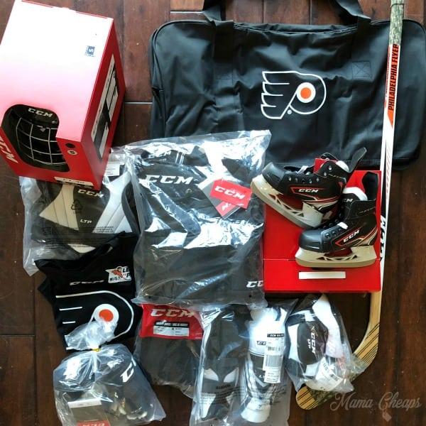 Free Hockey Equipment