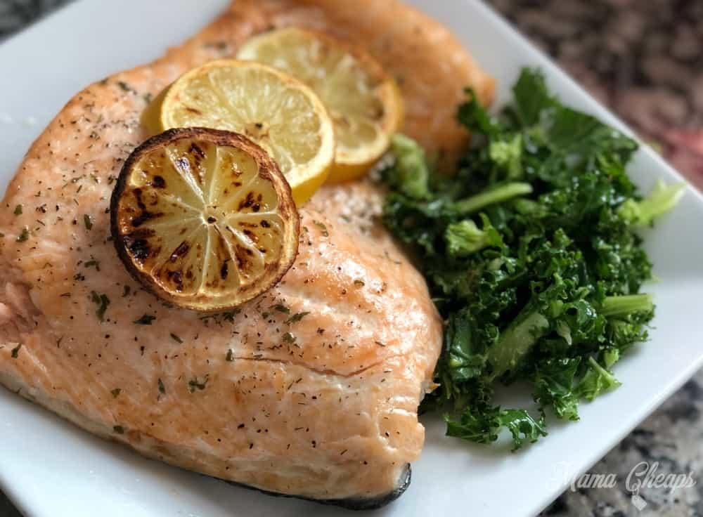Healthy Lemon Salmon
