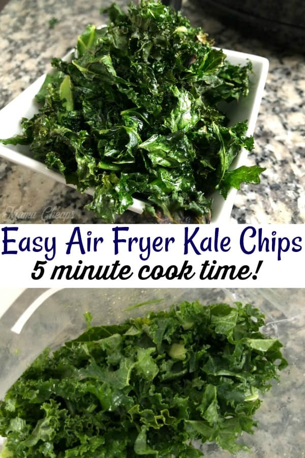 Kale Chips Air Fryer Recipe