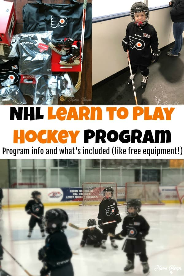 NHL Learn to Play Hockey Program