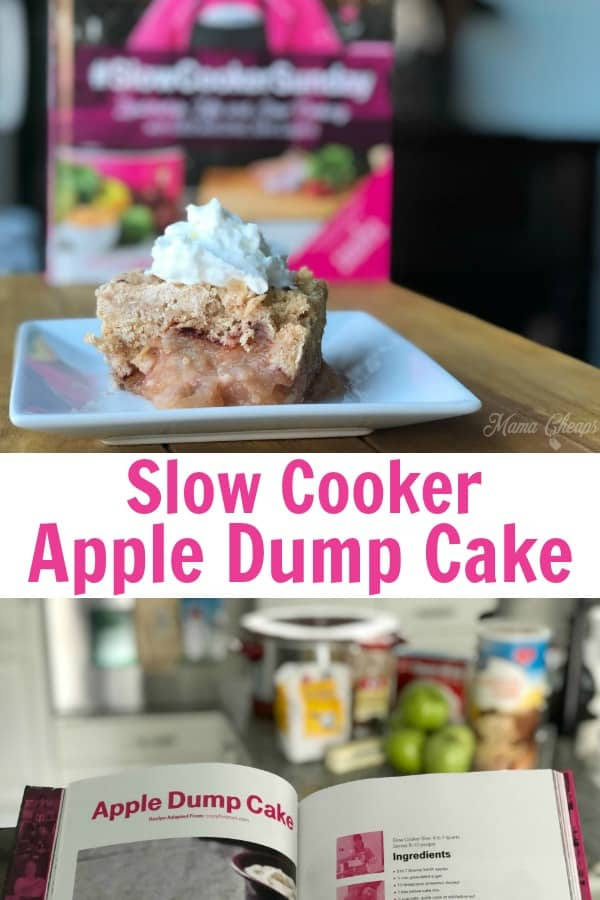 Slow Cooker Apple Dump Cake Recipe