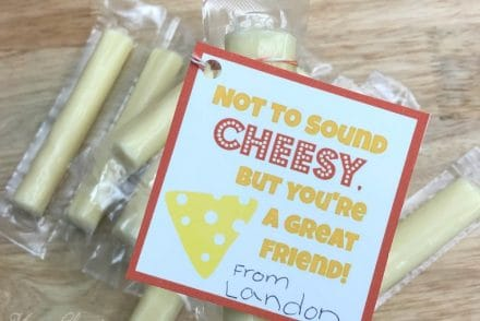 String Cheese Valentine