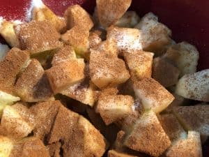 Sugar Cinnamon Apples