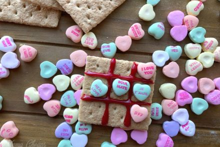Tic Tac Toe Conversation Hearts