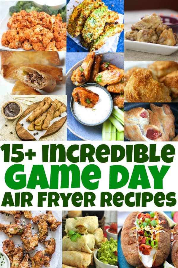 best game day air fryer recipes