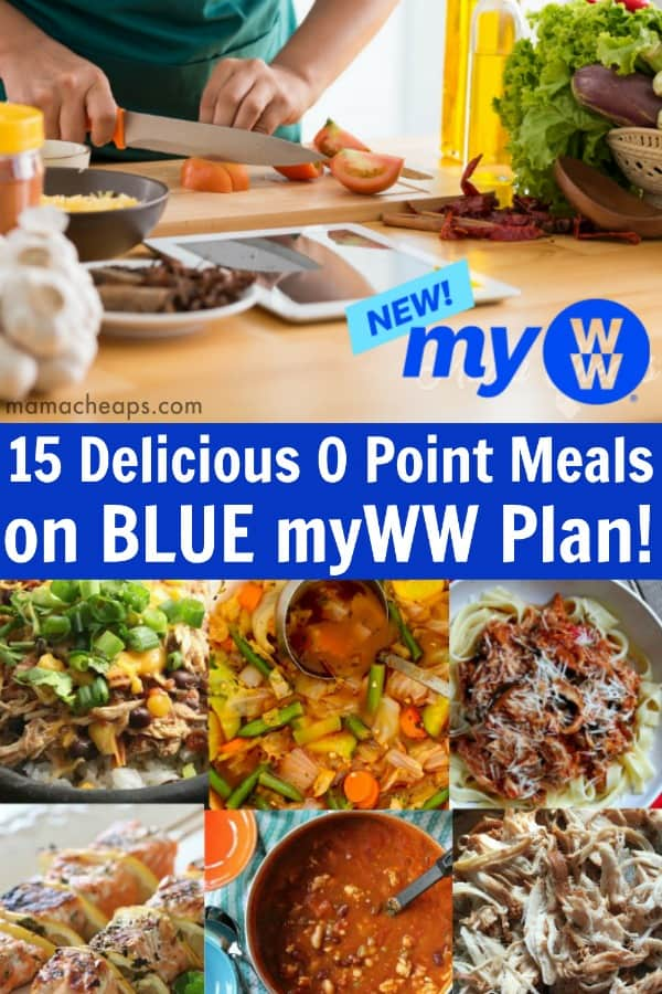 Blue WW Plan Zero Point Foods PIN 1