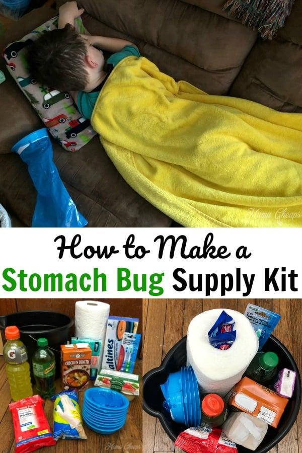DIY Stomach Bug Supply Kit