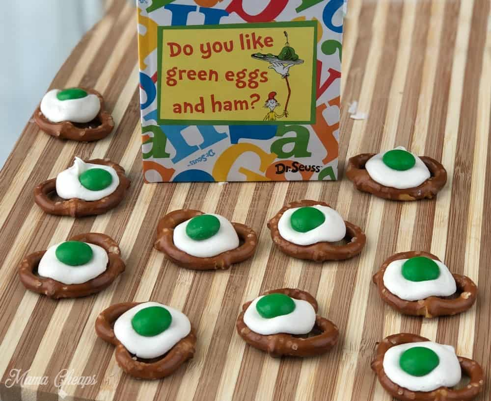 Dr Seuss Green Eggs