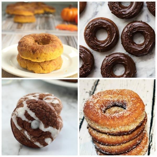 diy donut recipes white plate