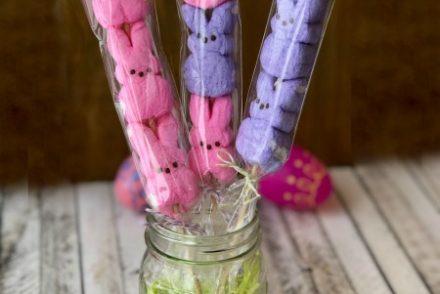 Peep Pops in Jar