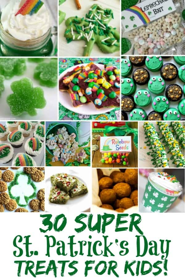 Saint Patrick's Day Treats for Kids