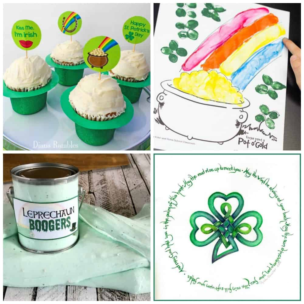 free st patricks day printables 1