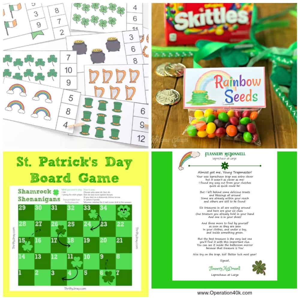 free st patricks day printables 6