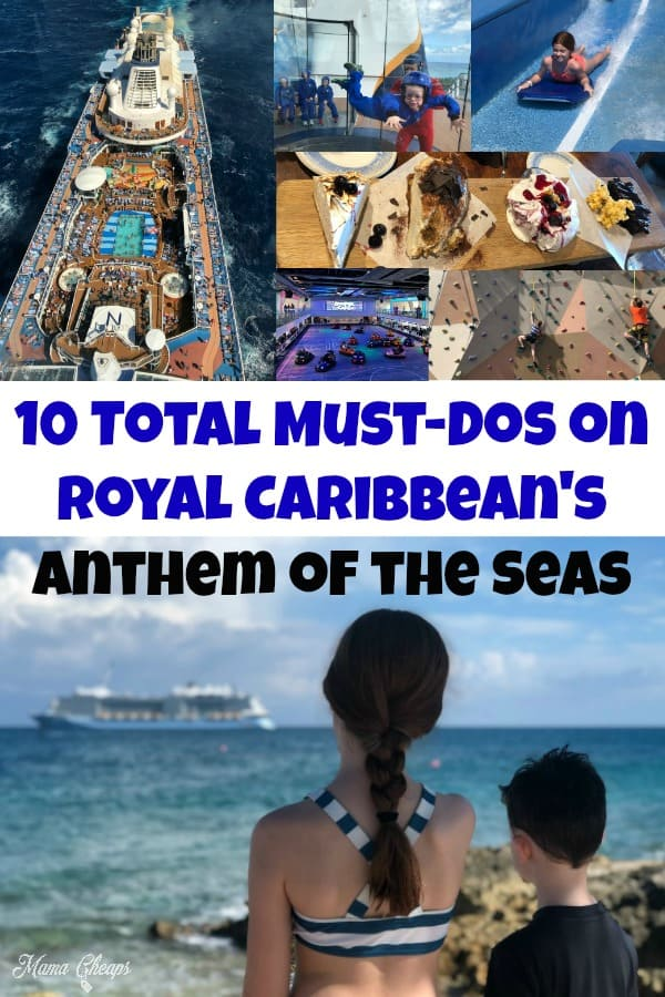 10 Total Must-Dos on Royal Caribbean's Anthem of the Seas