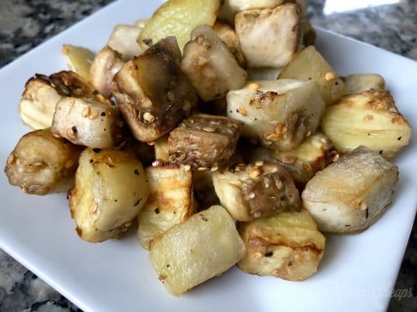 eggplant air fryer