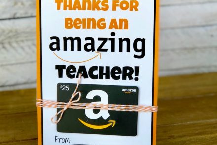 Amazon Gift Card Teacher