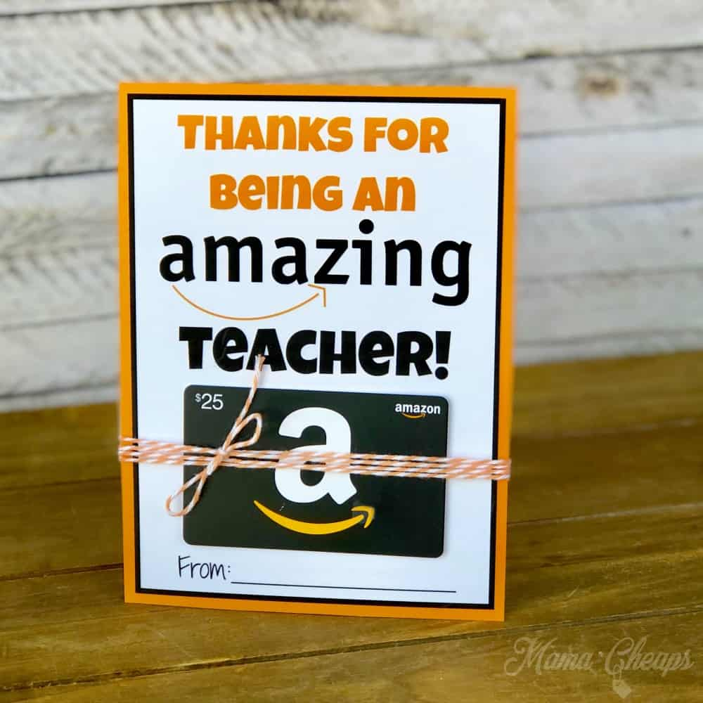graphic about Amazon Printable Gift Card referred to as Amazon Present Card Trainer Reward Printable Card Holder Mama