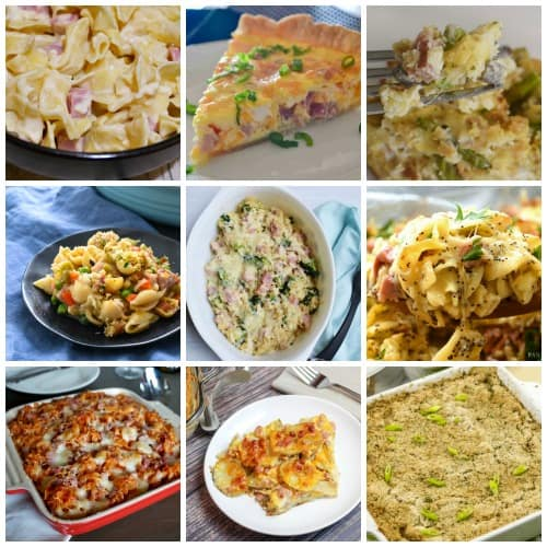 Casserole and Quiche Recipes for Leftover Ham