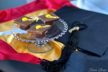 Chocolate Candy Graduation Cap Dessert