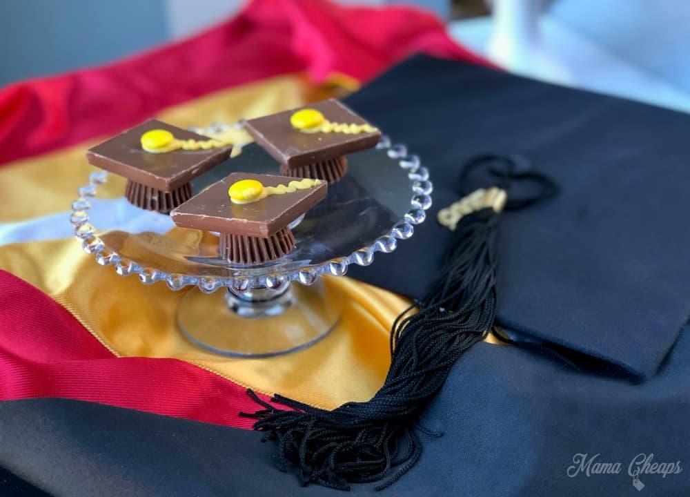 Chocolate Candy Graduation Cap Dessert