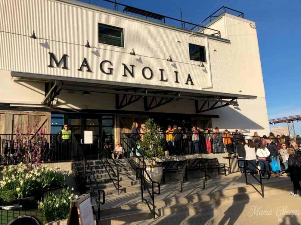 Magnolia Market Waco Line