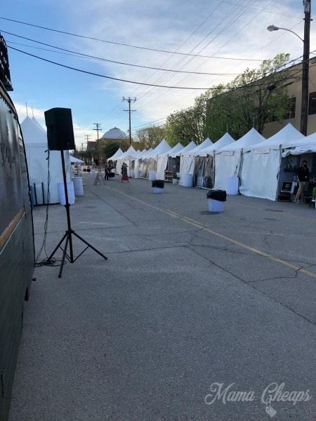 Magnolia Vendor Tents