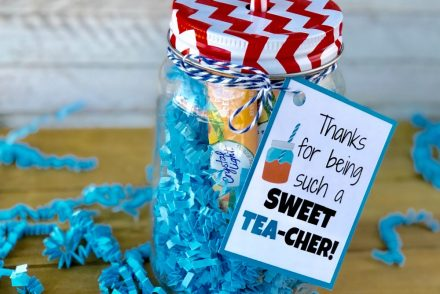 Mason Jar Sweet Tea Gift