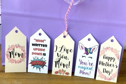 Mothers Day Gift Tag Collection Feature