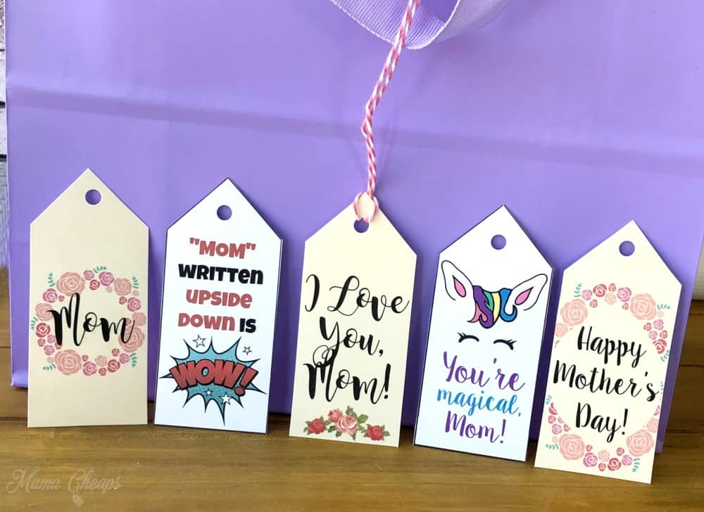 Mother S Day Tags: Free Printable Mother's Day Gift Tags