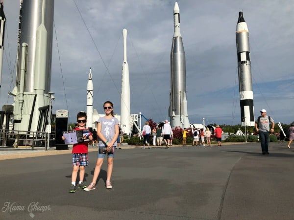 Nasa Rocket Garden