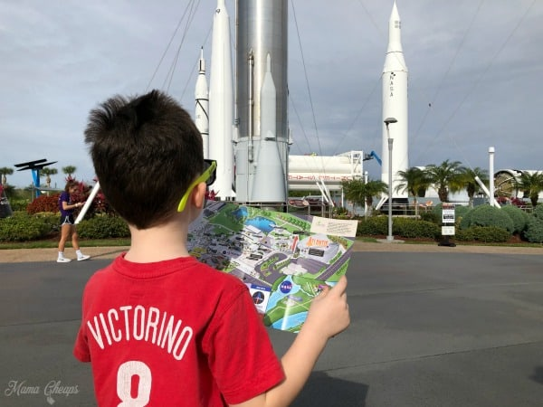 Reading NASA map