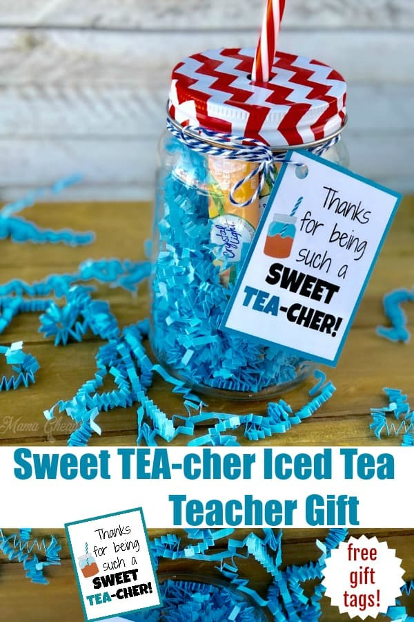Sweet Tea Iced Tea Teacher Gift