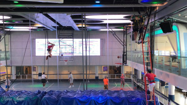 Trapeze School Anthem of the Seas