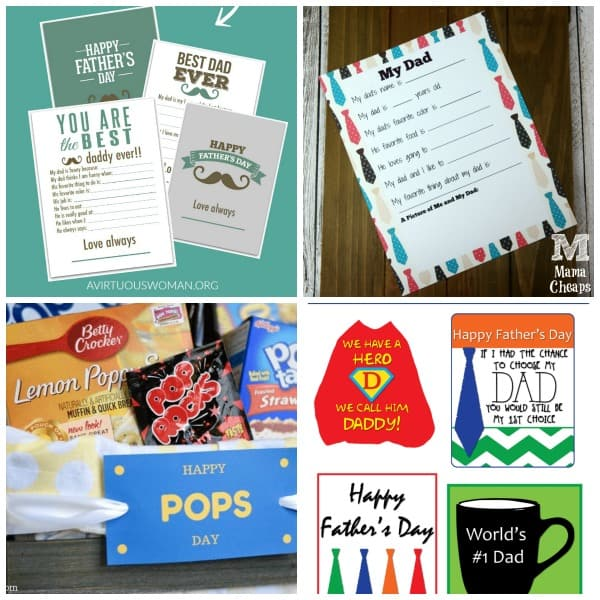 free father's day printables 2