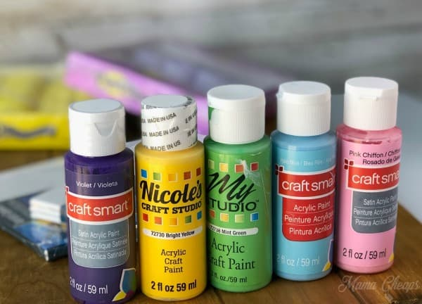 Acrylic Paint Spring Colors