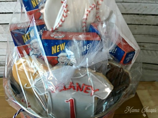 Baseball Cookies Teacher Gift