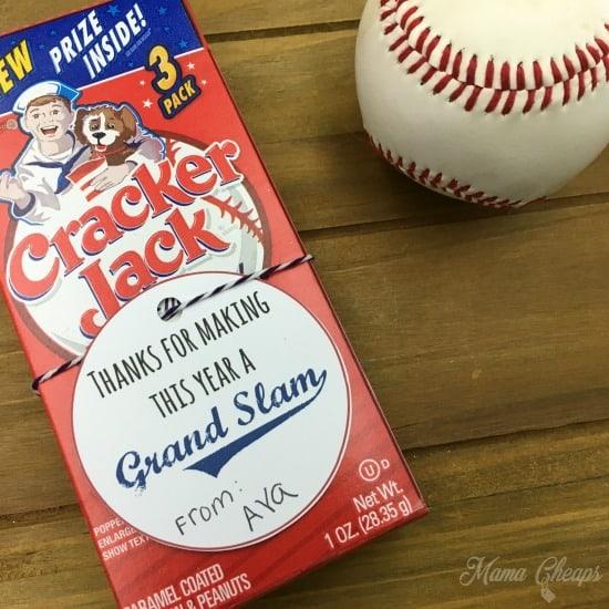 Baseball Cracker Jacks