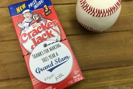 Cracker Jacks Gift Tag