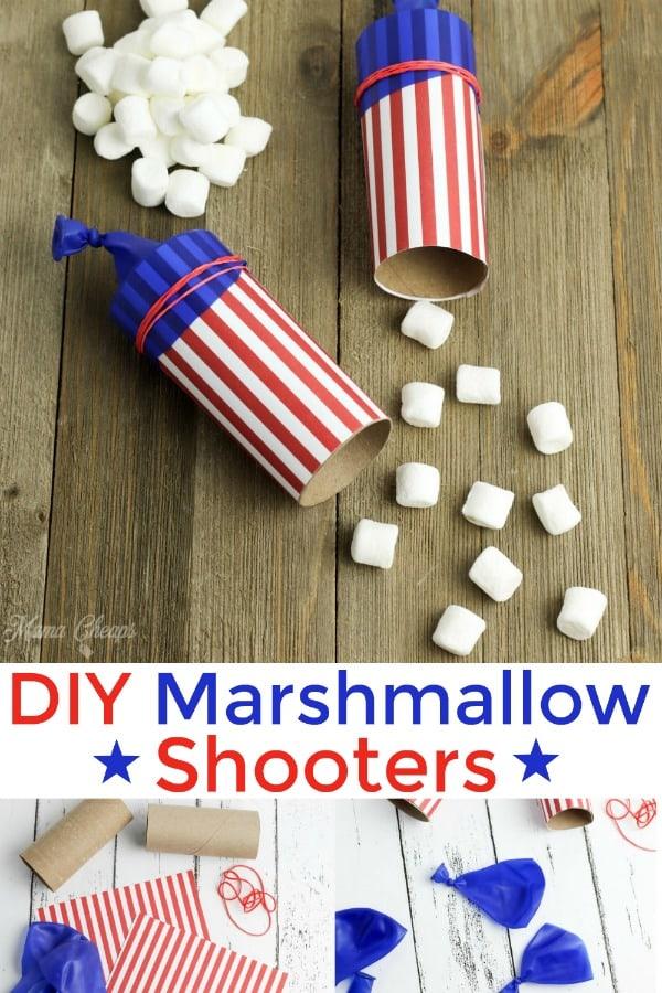 DIY Firecracker Marshmallow Shooters