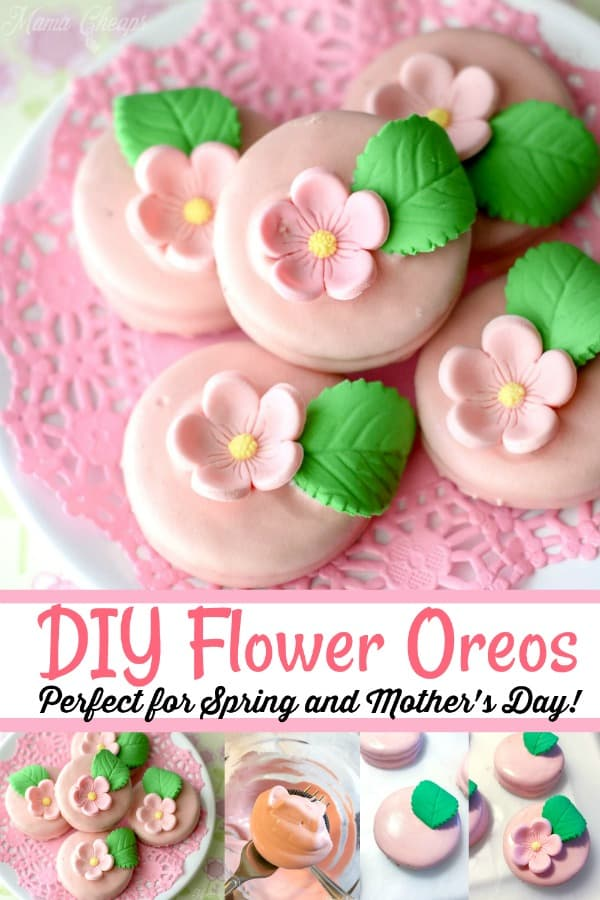 DIY Flower Oreos