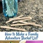 Family Adventure Bucket List