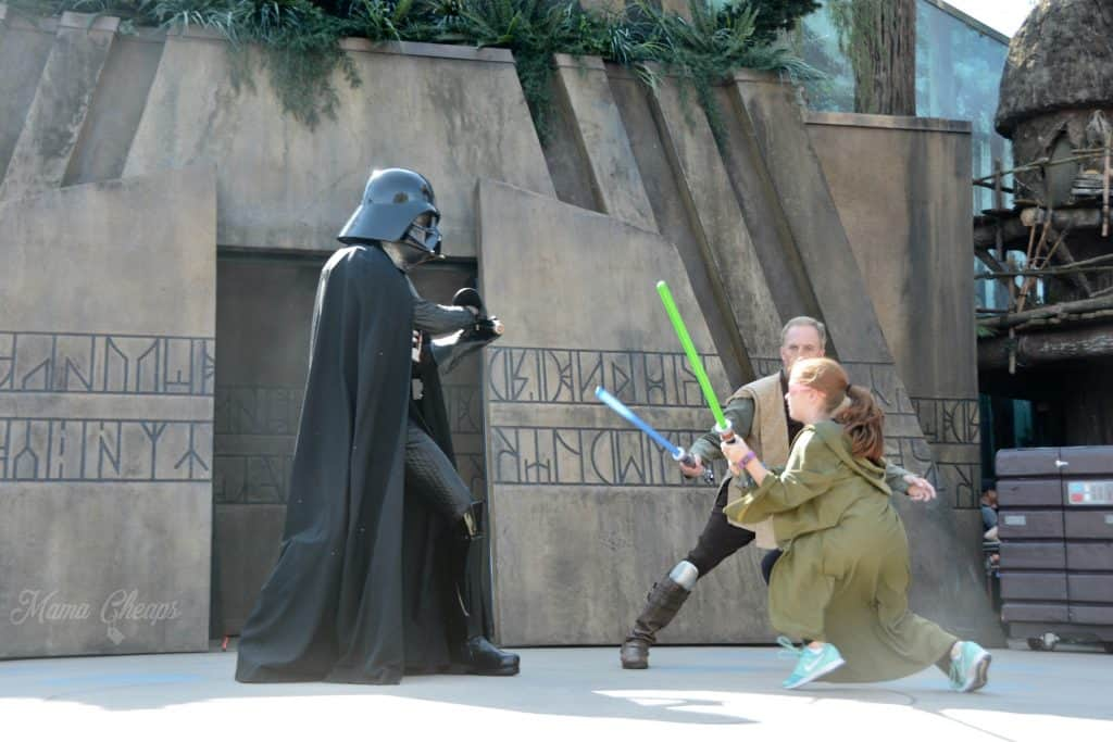 Jedi Training Lily 1