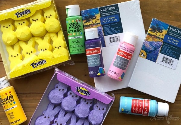 Peeps Painting Supplies