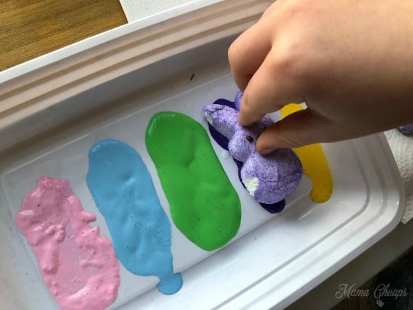 Peeps Painting Tray