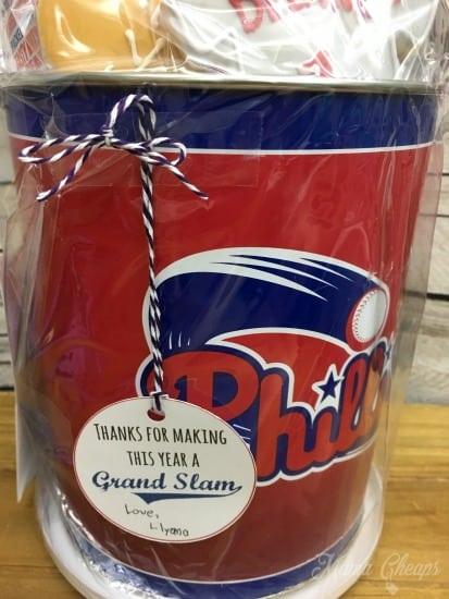 Phillies Baseball Teacher Gift