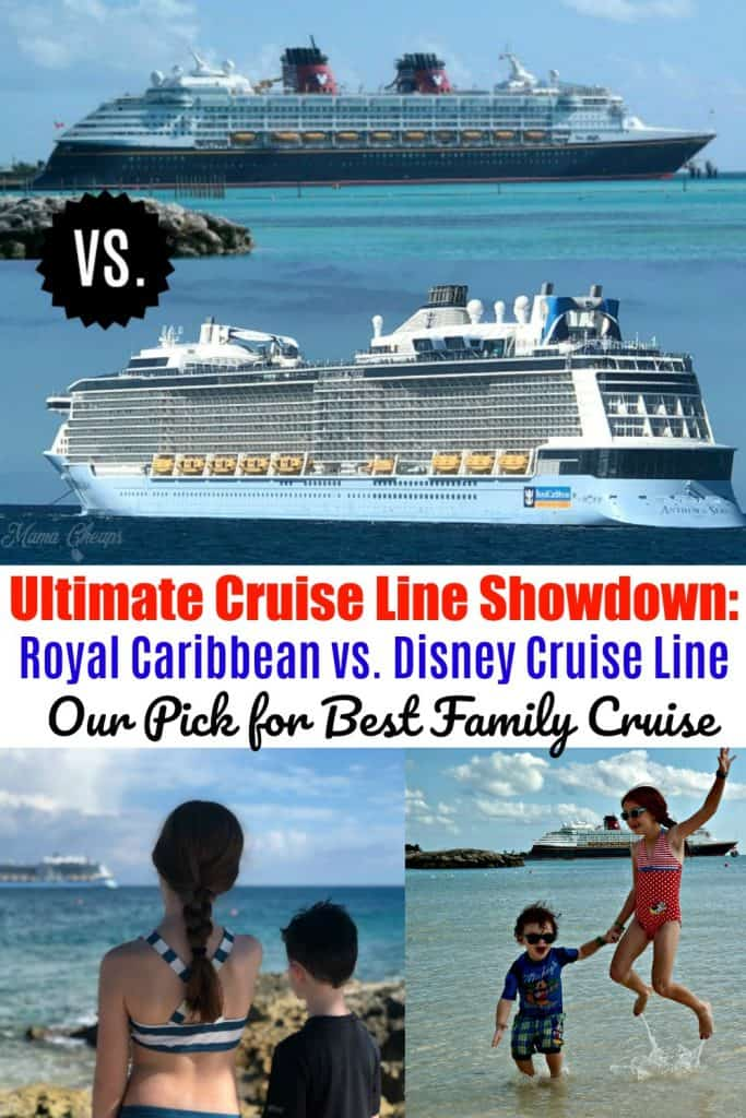 Royal Caribbean Versus Disney Cruise