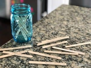 Summer Bucket List Jar