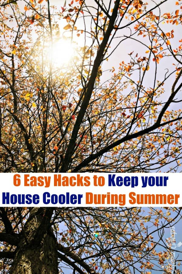 6 Easy Hacks to Keep your House Cooler During Summer