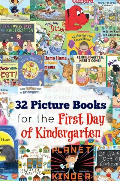 Best Books About Kindergarten
