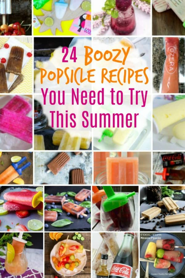 Boozy Popsicle Recipes for Summer
